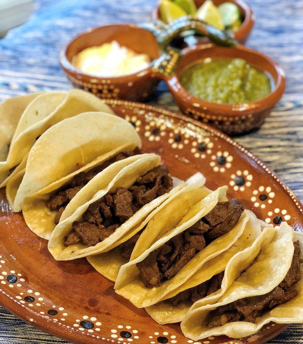Carne Asada Taquitos or Tacos