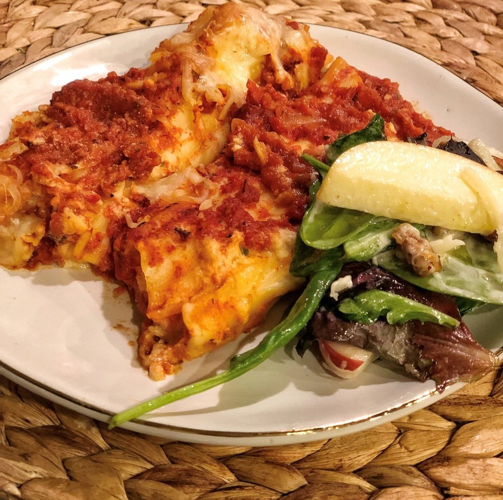 Three - Cheese Manicotti