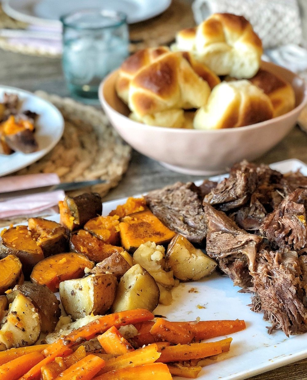 Traditional Pot Roast Dinner