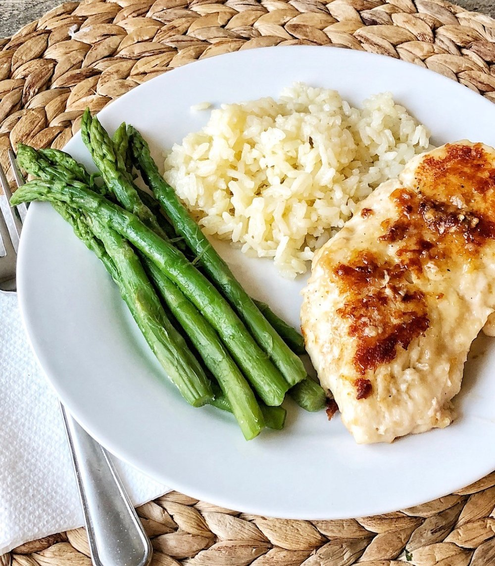 Lemon Chicken with Butter Sauce