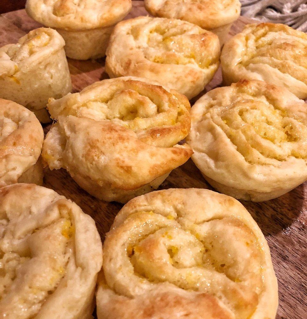 Orange Muffin Rolls