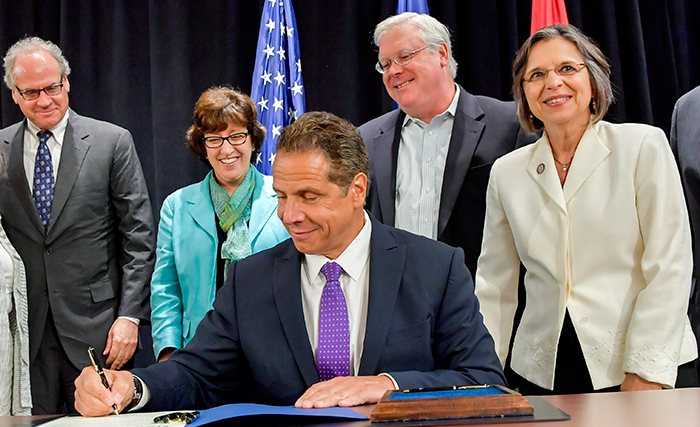 Gov. Cuomo signing legislation opening up NYS to industrial hemp.