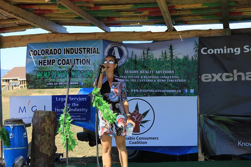 Veronica Carpio - Veronica was the first female hemp farmer in the United States. She has been dedicated to breeding industrial hemp cultivars, hemp policy advocacy, and connecting farmers with the industry.www.GrowHempColorado.com