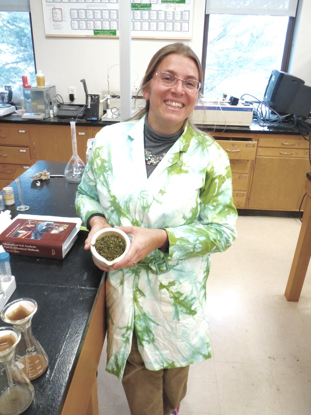 Jennifer Gilbert Jenkins - Jennifer is an Assistant Professor  in Agricultural Science at SUNY Morrisville.  She is a soil chemist and has over 15 years of experience in agricultural nutrient management.  Jennifer acquired the first permit to grow industrial hemp in New York for SUNY Morrisville in cooperation with their first year partners JD Farm.  Since the 2016 growing season, Jennifer's research has focused on nutrient management to maximize hemp production for food and fiber.  Additionally, she is working to understand what common New York State agricultural pests will be most problematic for hemp production.  In the current growing season, Jennifer is conducting trials on 60 acres of land at SUNY Morrisville as well as an additional 100+ acres across 8 partner farms in the state.
