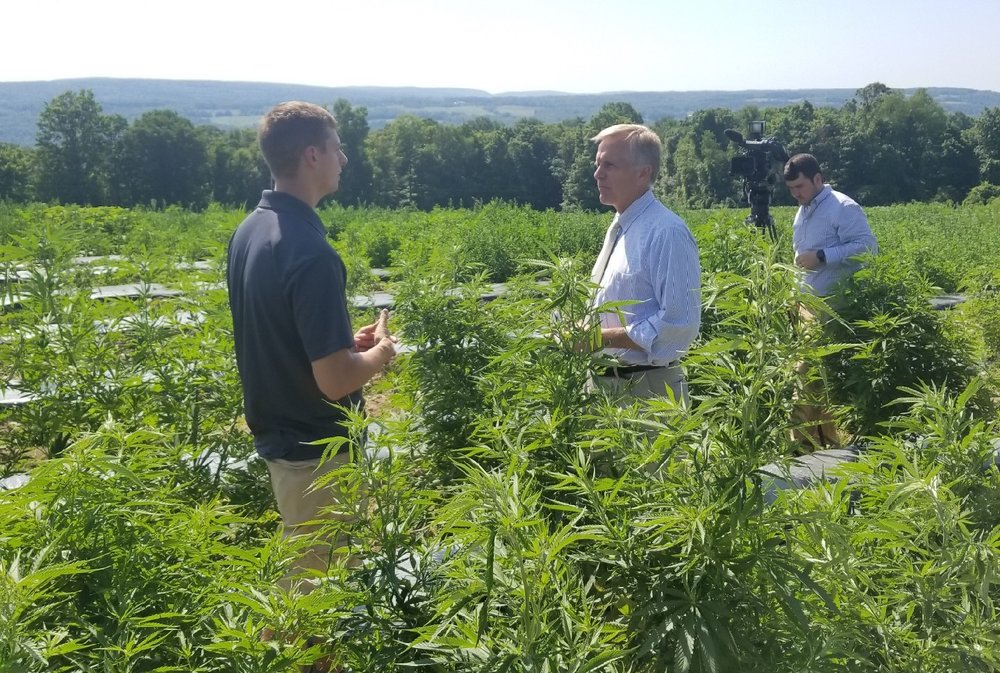 "2018 Hemp Farming Act Provision - ""There's a lot of gray area in the regulatory environment now,"" he said. ""But once you completely go and say 'all industrial hemp products are legal and they are not marijuana. They are not attached to the controlled substances act,' you are going to see massive investment. You're going to see massive interest in hemp for products [that are] going to carry nationwide distribution and global distribution."" - CEO Kaelan CastetterWatch the interview at News 10 Rochester"