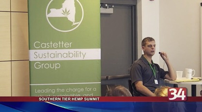Summit Brings Hemp Leaders to Binghamton - The first Southern Tier Hemp Summit was hosted Friday by the Castetter Sustainability Group and the Binghamton University Office of Entrepreneurship.The event featured hemp industry leaders from across the country to help educate, network, and plan the future of hemp in New York.Full story at BinghamtonHomepage.com
