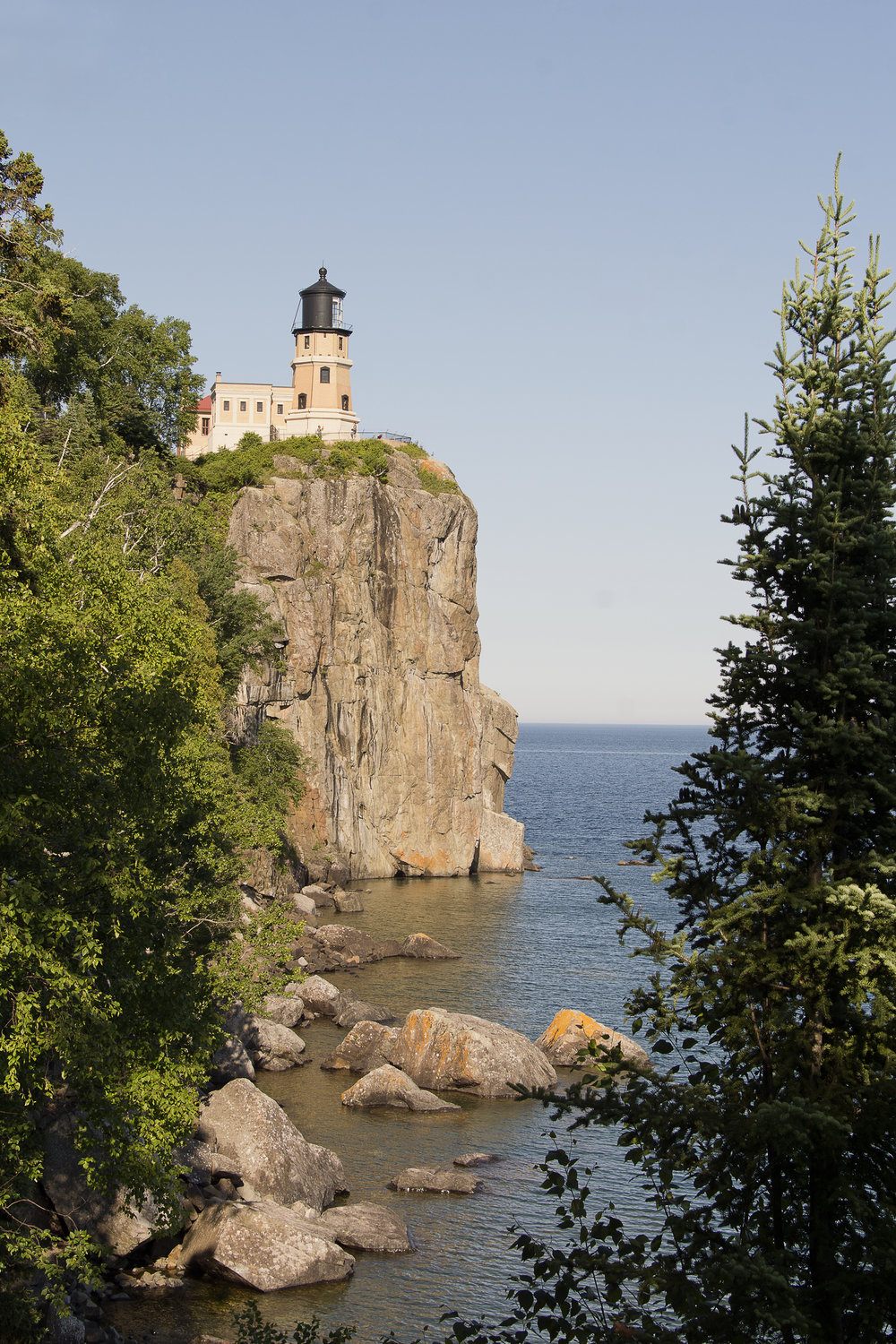 Exceptionnel The Light Station Was Active For Nearly 60 Years. Today, The Split Rock  Lighthouse Is A National Historic Landmark And A Minnesota State Historic  Site.