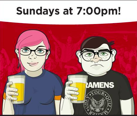 Nerd-out with your friends at Geeks Who Drink Trivia! Every Sunday night, 7pm-9pm.   -