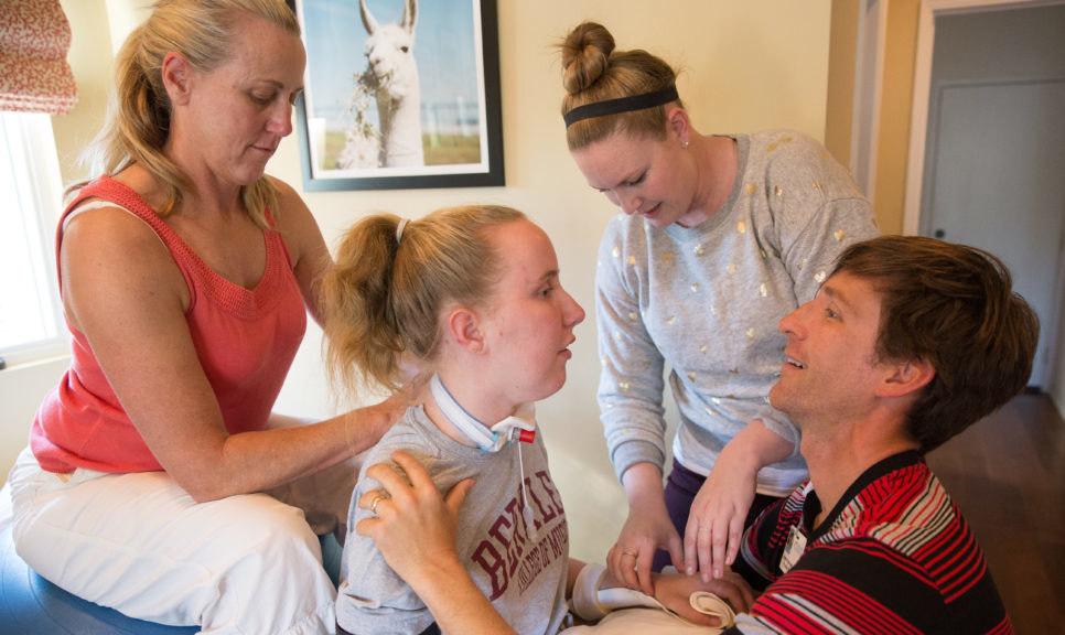 Finding the Light - During a party to celebrate her 17th birthday, Grace Fisher suddenly was overcome by pain in her neck and tingling in her hands. Within minutes, upon arrival at the hospital, Grace lost the use of her legs.
