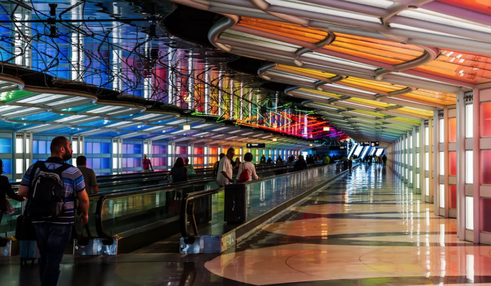 Airport Travel  - Whether you're arriving at O'Hare or Midway, this website offers interactive maps, ground travel tips and more.