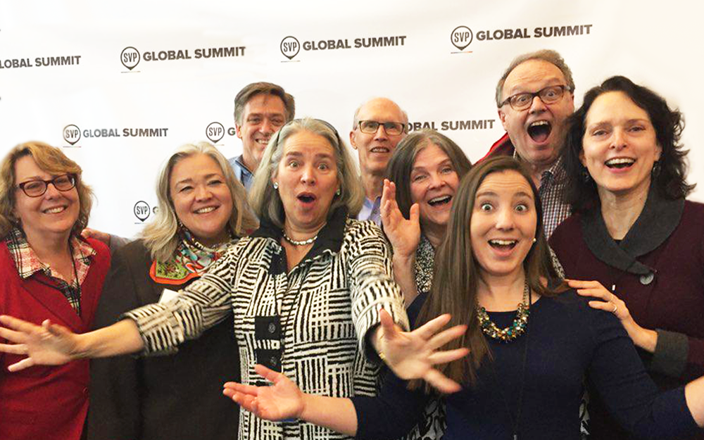 From the Crowd - Participant snapshots shared in the SVP Global Summit mobile app