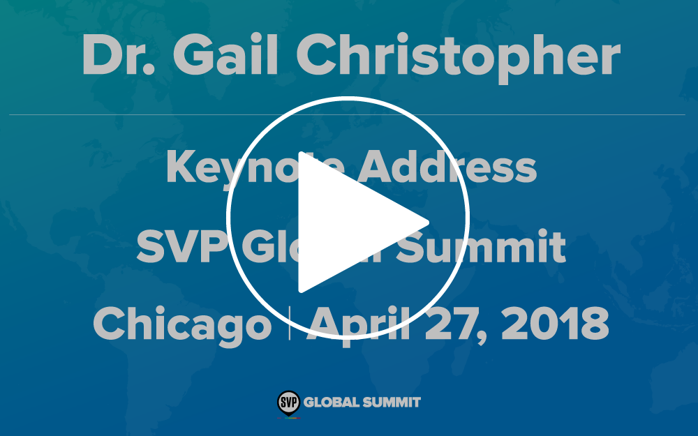 Video - Including Dr. Gail Christopher's complete keynote address