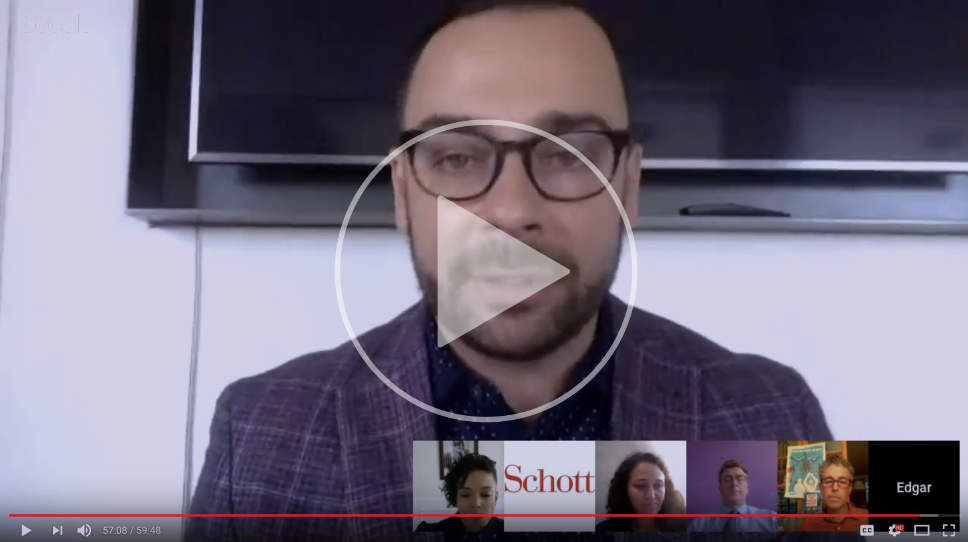Edgar conducting a September Schott Foundation webinar:  Challenging Structural Racism as White Leaders in Philanthropy