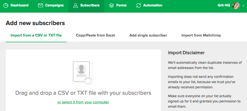Mailerlite-Email-Newsletters-Nonprofits-Add-Subscribers.png