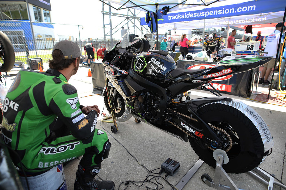 DAYTONA 200 - The Daytona 200 is an annual motorcycle road racing competition held in early spring at the Daytona International Speedway in Daytona Beach, Florida. The 200-mile (320 km) race was founded in 1937 when it was sanctioned by the American Motorcyclist Association (AMA). The original course used the beach itself before moving to a paved closed circuit in 1961. The Daytona 200 reached its zenith of worldwide popularity in the 1970s when the race attracted the largest crowds of any AMA race along with some of the top rated international motorcycle racers.