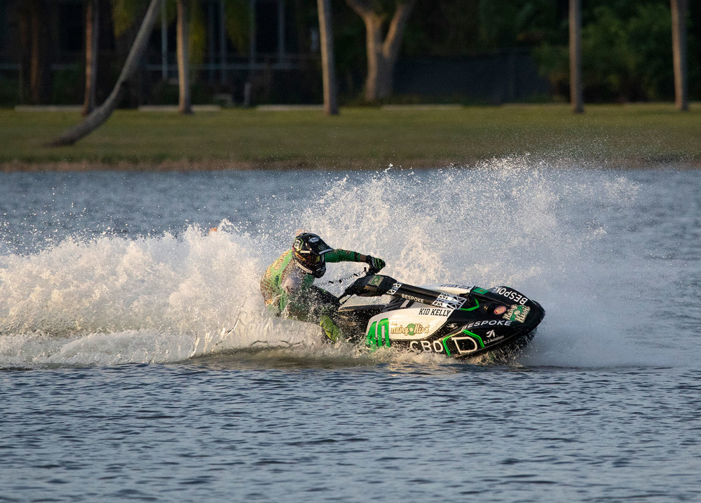 "- SUNNY ISLES, Fla., Nov. 02, 2018 (GLOBE NEWSWIRE) -- Bespoke Extracts, Inc. (OTCQB: BSPK), producer of high quality, great tasting, hemp-derived CBD products, today announced that it will serve as a featured sponsor of Sean ""Kid"" Kelly in the 4th Annual Pro Watercross World Championship race to be held today at Sugden Regional Park in Naples Florida."