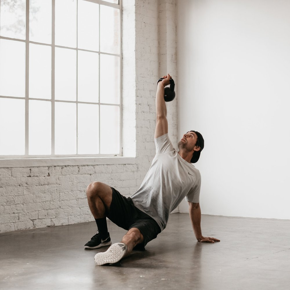 Kettlebells - The perfect workout for building endurance, strength and stability. Lose yourself to the music whilst shredding fat and toning muscles. This full body integrational method is the perfect accompaniment to yoga.