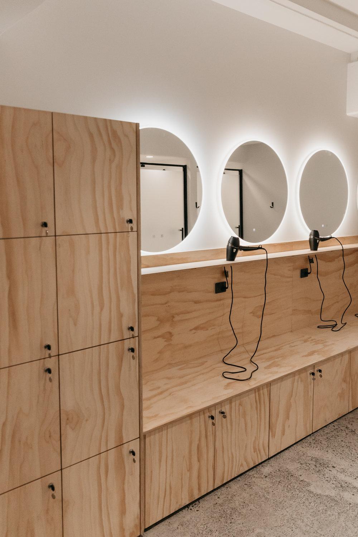 SALA Studio bathrooms