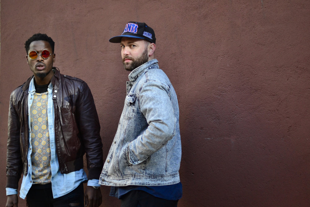 THE CLICK | J. Taylor & =Afika= - Brooklyn-based production & songwriting collective. Photo by Nia Groce.