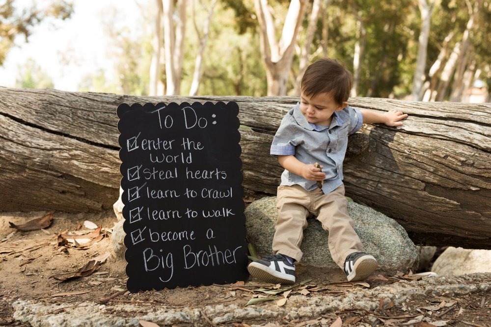 - So, understand my IG and Facebook feed my be taken over by his precious face in a short time from now. He and his family also shared they will be celebrating the birth of their new baby in January.