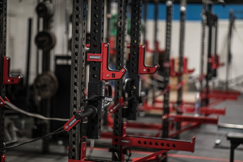 Romeo Athletics Gym Facility Barbell Squat Pulldown Lat Racks.jpg