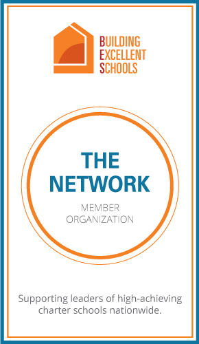 Member badge of the Building Excellence in Schools Member Network.
