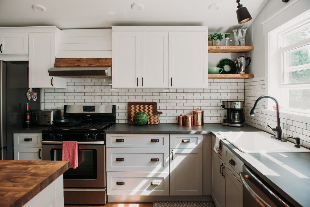 White Kitchen Cabinets - ACME Cabinet Co. | Buffalo, NY
