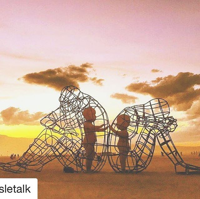 This piece by Alexandr Milov from Burning Man 2015 beautifully illustrates the longing that we all have to connect with our partners.  #emotionallyfocusedtherapy #eft #couplestherapy #jacksonvillebeach