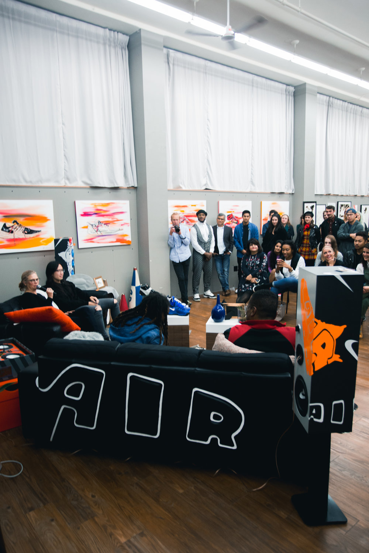 Panel of Iconic Nike designers