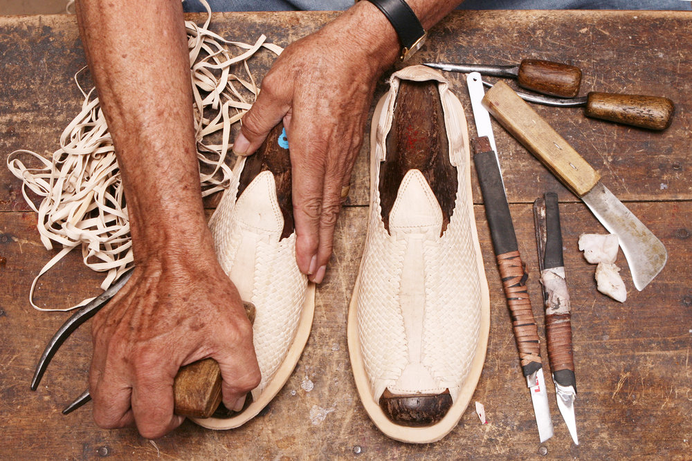 Tejido a mano - por artesanos Michoacanos...
