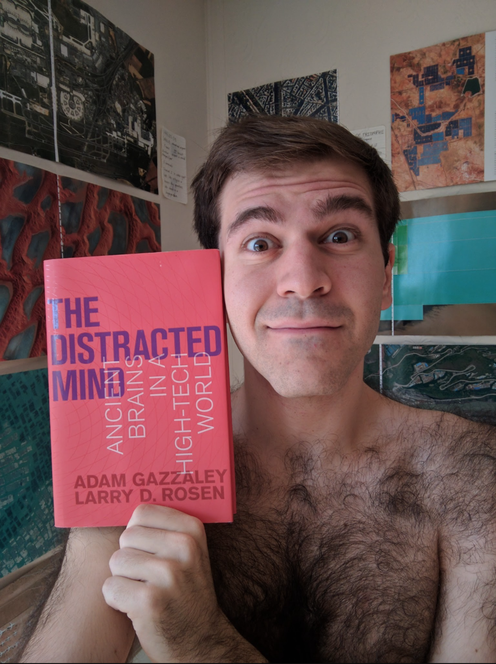 It took me only a week to read Adam & Larry's book,  The Distracted Mind , because it's the best book I have ever read. Understanding how our ancient brains work in this high-tech world is crucial for maximizing our cognitive control.