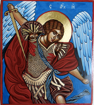 Saint Archangel Michael,  Iconsart