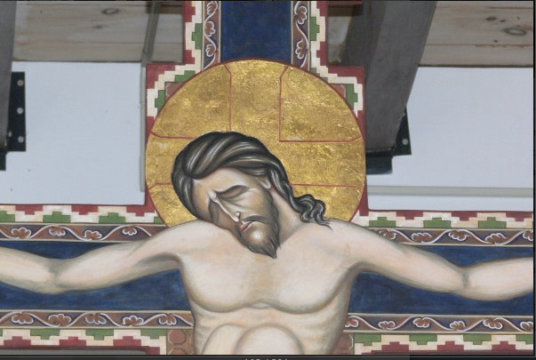 Icon painted by David Clayton