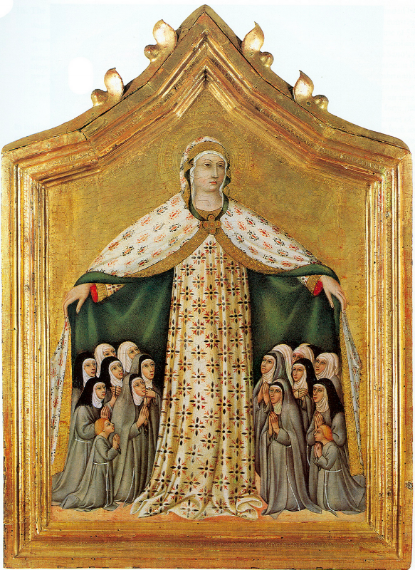 Virgin of Mercy, Sano di Pietro, 15th century;
