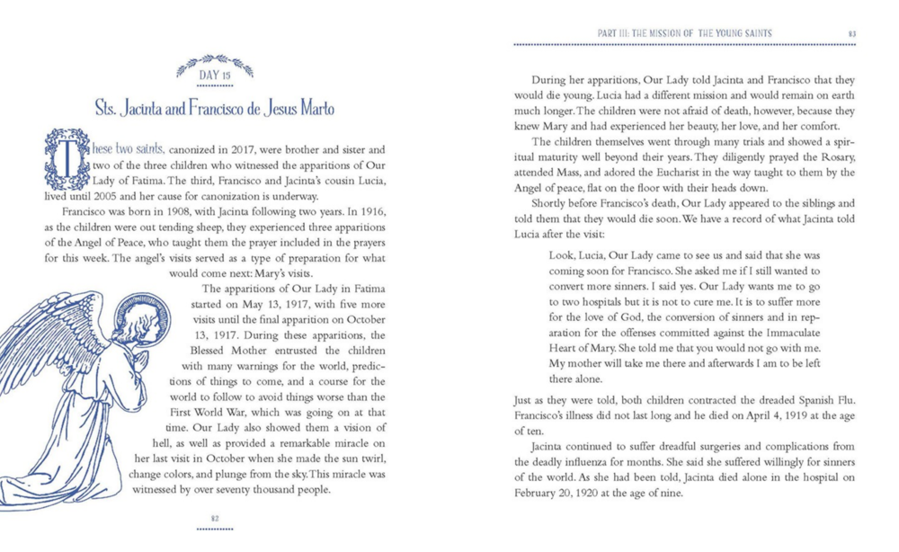 Page from  Marian Consecration for Children