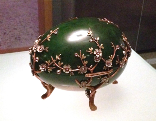 Apple Blossom Egg, Faberge (wikicommons)