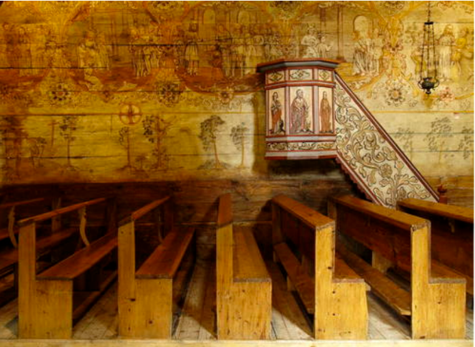 Well-preserved biblical paintings (photo: UNESCO World Heritage Collection)