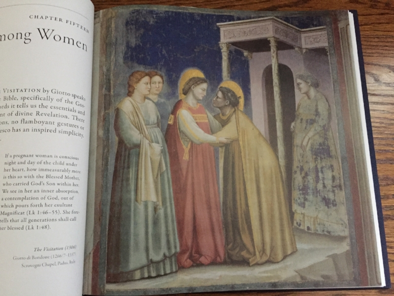 Giotto di Bondone,  The Visitation