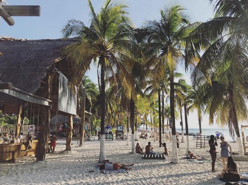 Popular  Playa Norte  (Photo: Mering)