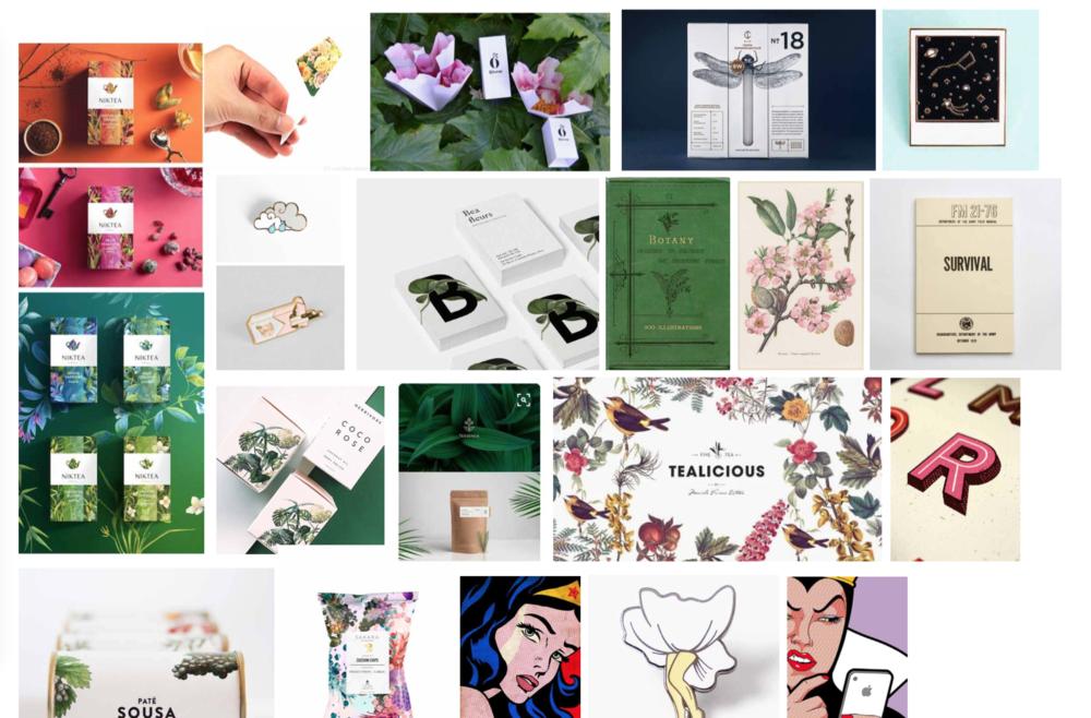 Brand Keywords: mythological, cheeky, elegant, natural, curious