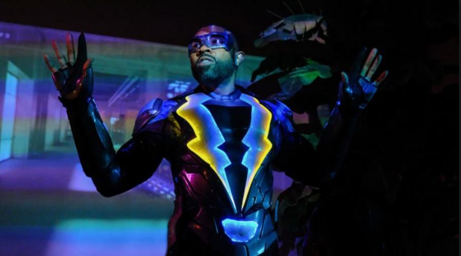 Jefferson Pierce (Cress Williams) as Black Lightning