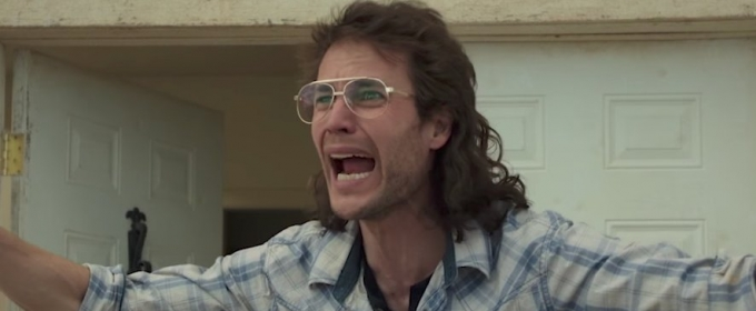 David Koresh (Taylor Kitsch) in the 1993 standoff against law enforcement