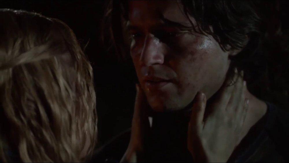 Clarke says goodbye to Finn