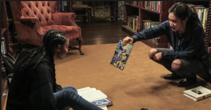 Anissa (Nafessa Williams) meets Grace (Chantal Thuy)