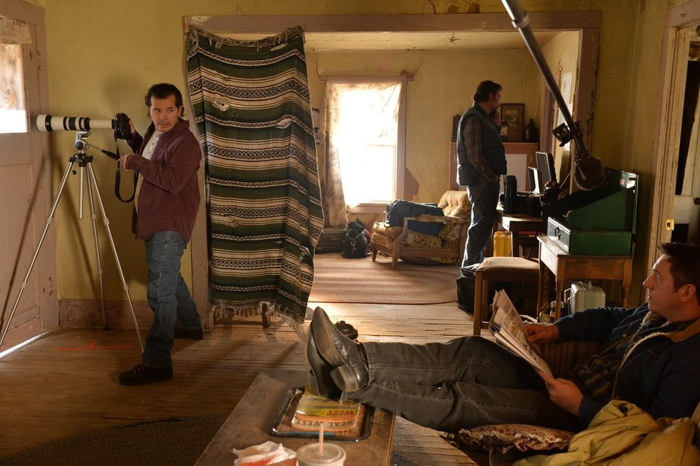Koresh (Taylor Kitsch) confronts Jacob (John Leguizamo)