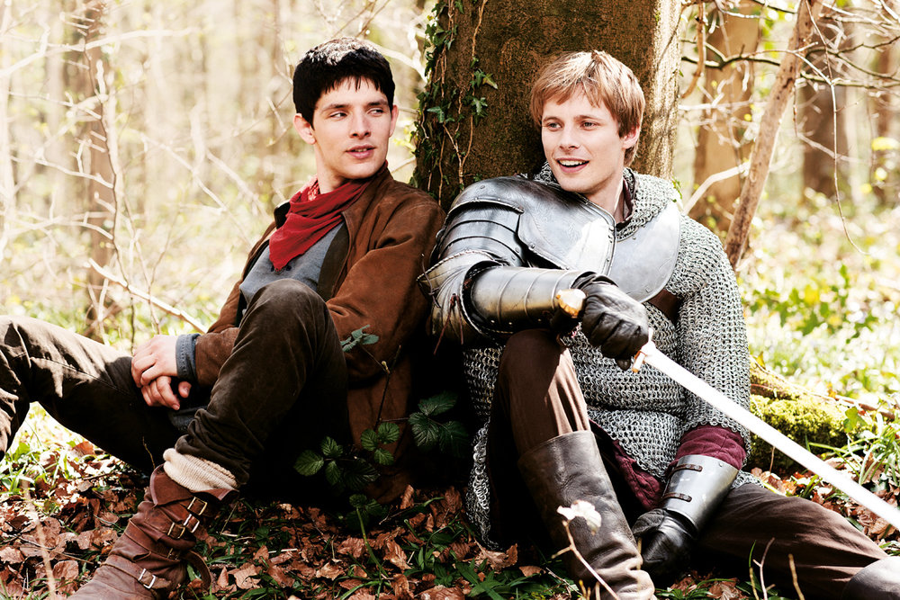 Merlin and King Arthur (Bradley James)