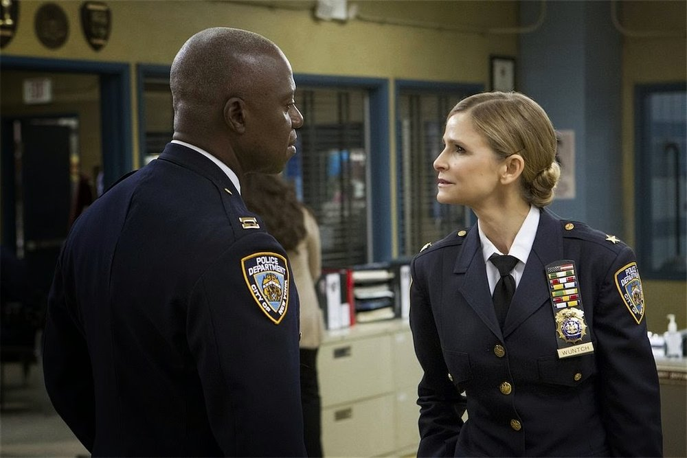 Captain Holt faces off against Madeline Wuntch, an old rival