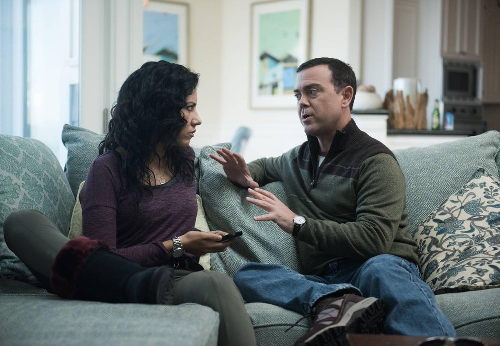 "Boyle gives Rosa some dating advice in ""The Beach House"""