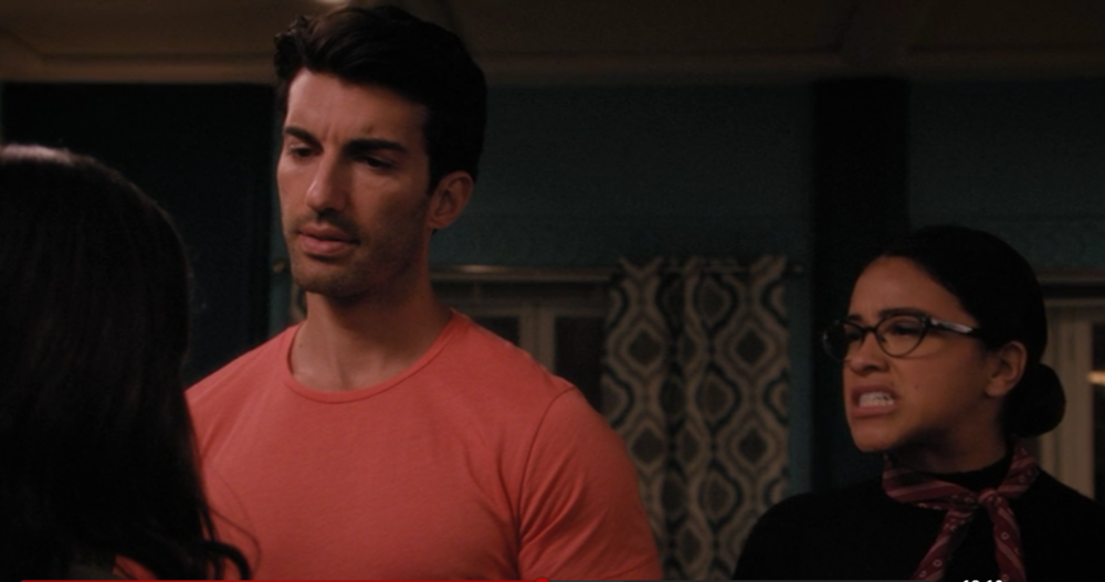 Jane's Inner Critic prevents her from telling Rafael how she feels