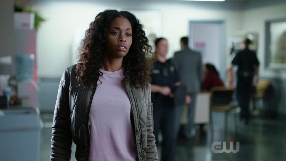 Nafessa Williams as Anissa Pierce, a bulletproof black lesbian on The CW's  Black Lightning